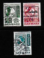 DENMARK, 1972, Used Stamp(s), Traffic Matters, MI 532-535, #10109 3 Values Only - Denmark