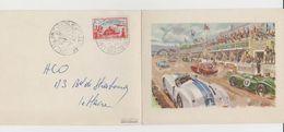 Carte Geo Ham - 24 Heures Du Mans 1952 - Le Mans