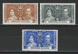 Brit. Guiana SG 305-07, Mi 173-75 * MH - British Guiana (...-1966)