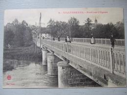 VILLERSEXEL / PONT SUR L'OGNON / BELLE CARTE ANIMEE - Other Municipalities