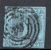 ALLEMAGNE - Tour Et Taxis (Etats Du Nord) - 1851-52 - N° 4A - 1 Silb. Grosch. Bleu Foncé - Thurn Und Taxis
