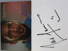 Carte Postale - Maxime MERMOZ - Dédicace - Hand Signed - Autographe Authentique  - - Rugby