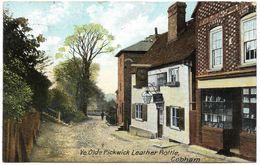 Ye Olde Pickwick Leather Bottle Cobham - Postmark 1907 - Hartmann - England