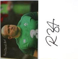 Carte Postale - Rory David BEST - Dédicace - Hand Signed - Autographe Authentique  - - Rugby