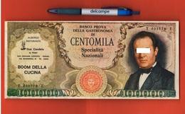 San Giovanni Lupatoto Verona 100000 Lire Manzoni Pubblicità Anni '60 Ristorante - Advertising