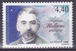 Timbre-poste Neuf** - Centenaire De La Mort Du Poète Stéphane Mallarmé - N° 3171 (Yvert) - France 1998 - Francia