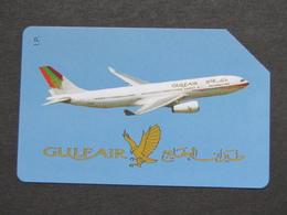 ITALIA F3055 C&C 949 GOLDEN - GULF AIR - USATA QUALITA' FIOR DI STAMPA - Aerei