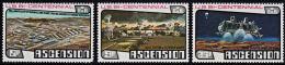 A0244 ASCENSION 1976, SG 219-21 Bicentenary Of American Revolution,  MNH - Ascension (Ile De L')