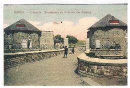 CPA : Namur Citadelle - Promenade Au Château Des Comtes, Enfants Sur Le Pont - Namur
