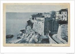 PIZZO CALABRO CASTELLO MURAT VISTO DAL MARE VIAGGIATA FP 1926 - Vibo Valentia