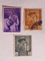NÉPAL  1963-04   LOT# 2 - Népal