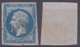 PC 4360 Sur 14 - GRANGES (Vosges) - Marcophilie (Timbres Détachés)