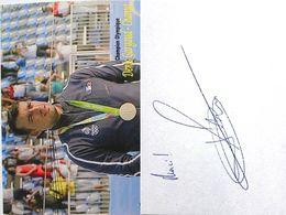 Canoë/ Kayak - Denis GARGAUD - CHANUT - Signé / Hand Signed / Dédicace Authentique / Autographe - Cartes Postales