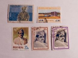 NÉPAL  1978-80   LOT# 4 - Népal