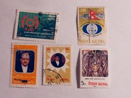 NÉPAL  1981-86   LOT# 5 - Népal