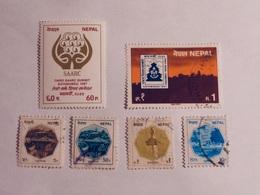 NÉPAL  1986-87   LOT# 6 - Népal