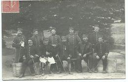 1906   GROUPE SOLDATS FRANCAIS Dont Officiers - Uniformes