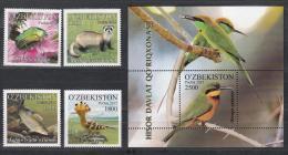 Uz 1136-1140 Bl.77 Uzbekistan Usbekistan 2015 Gissarsk Natue Reserve Issued 2016 - Usbekistan