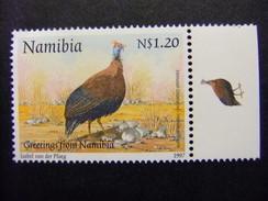 NAMIBIA NAMIBIE 1997 Sello De Saludos Fauna  Yvert 787 ** MNH - Namibia (1990- ...)