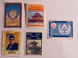NÉPAL  1987-90   LOT# 7 - Népal