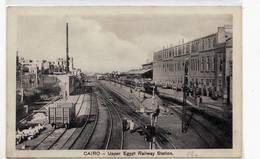 6297 EGYPT CAIRO UPPER EGYPT RAILWAY STATION - Port Said
