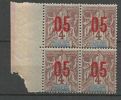GUADELOUPE  N° 72 EN BLOC DE 4 NEUF** LUXE SANS CHARNIERE / MNH - Guadeloupe (1884-1947)