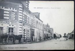 """44  SOUDAN  Route De POUANCE  """"Café BLANCHARD"""" CHATEAUBRIANT POUANCé VILLEPOT NOYAL ROUGé - France"""