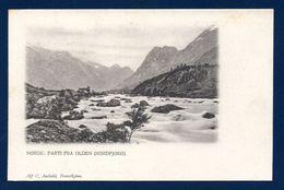 Norvège. Parti Fra Olden  ( Stryn - Nordfjord). . Ca 1900 - Norvège