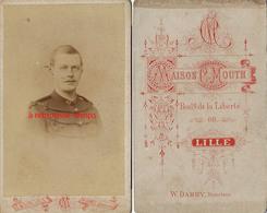 CDV Soldat Du 43e R-maison Mouth Bld De La Liberté à Lille-W. Damry Directeur - Guerre, Militaire