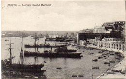 MALTA - Interior Grand Harbour   (102803) - Malte