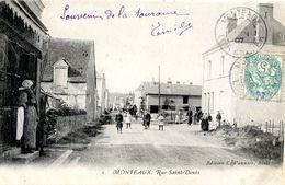41 MONTEAUX -RUE SAINT DENIS - France