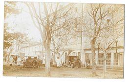 BONDONNEAU (26) Carte Photo Hopital Militaire Guerre 1914-18 Animation Cachet Au Verso - Autres Communes