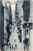 MALTA - Valletta - Strada St Lucia ....    (102806) - Malte
