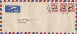 MARCOPHILIE LETTRE AFRIQUE DU SUD DE 1957 - Afrique Du Sud (1961-...)
