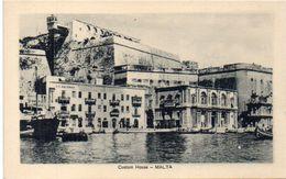 MALTA - Custom House ...    (102807) - Malte