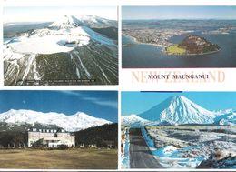 New Zealand - 4 Cards - Mount Maunganui - Mount Tongariro - Mt. Ngauruhoe - Hotel - Stamps - Neuseeland