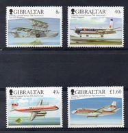 GIBRALTAR  Timbres Neufs ** De 2006 ( Ref 5084 )  Transport - Avion - Gibraltar