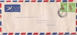 MARCOPHILIE LETTRE AFRIQUE DU SUD DE 1963 - Afrique Du Sud (1961-...)