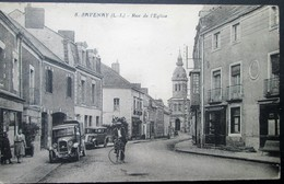 44  SAVENAY  Rue De L'EGLISE PEUGEOT 1933 MALVILLE PRINQUIAU BOUEE LAVAU  CAMPBON LAUNAY - Otros Municipios