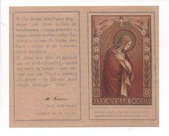 AKTE TOEWIJDING AAN ONZE LIEVE VROUW HASSELT 1941 / MARIA VROOM - Images Religieuses