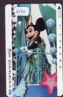 Télécarte Japon DISNEY / 110-011 - MICKEY MOUSE * (6272)  Japan Phonecard - Disney
