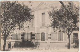 CPA ALGERIE AIN TEMOUCHENT Ecole Des Garçons - Other Cities