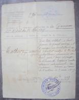 Extrait A L'ordre De Citation Pour Courage 1917 - 1914-18