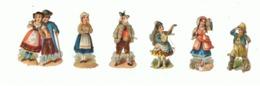 Découpis - Lot De 6 Personnages - Costumes Régionaux, Folkloriques (hon) - Children