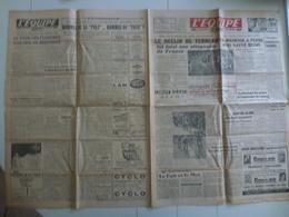 L'Equipe 22 Avril 1947 Football Cyclisme Tour Des Flandres Blanc Martin Chanteloup - Journaux - Quotidiens