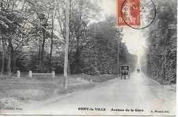 ORRY LA VILLE AVENUE DE LA GARE EDITEUR A. PROUST COLLECTION PETER 1913 - Nouvel An