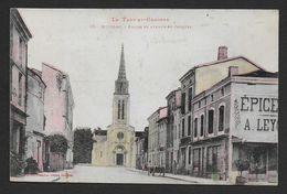MOISSAC - Eglise Et Avenue St Jacques - Moissac