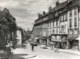 CPSM Dentelée - SARREBOURG (57) - Aspect De La Grande-Rue Dans Les Années 50 - Sarrebourg