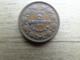Honduras  2  Centavos  1956  Km 78 - Honduras