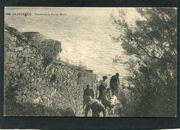 CPA - LA BERNERIE - Sentier De La Roche Marie, Animé - La Bernerie-en-Retz